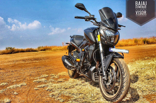 BAJAJ DOMINAR 400 WINDSHIELD
