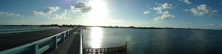 Desde el puente levadizo saliendo de Manasota Key