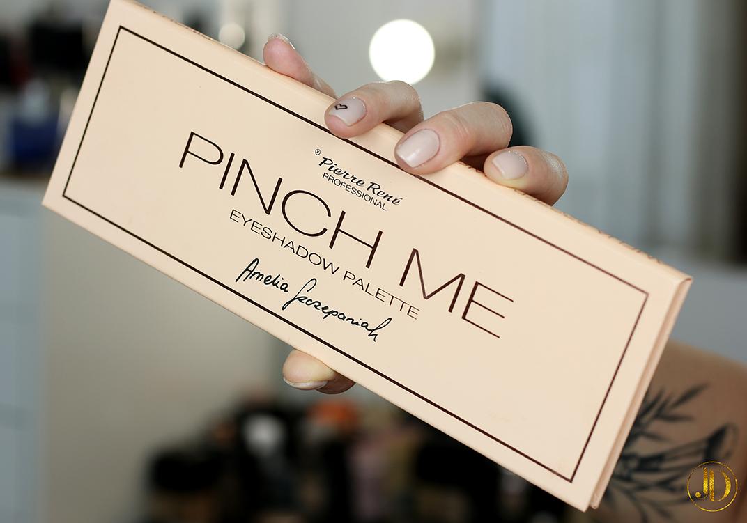 PINCH ME! Recenzja palety Pierre Rene Pinch Me by Amelia Szczepaniak