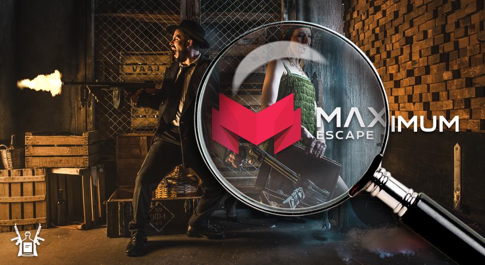 Review Room Escape: Maximun Escape -Gangsters: Dinero, Armas y Alcohol-