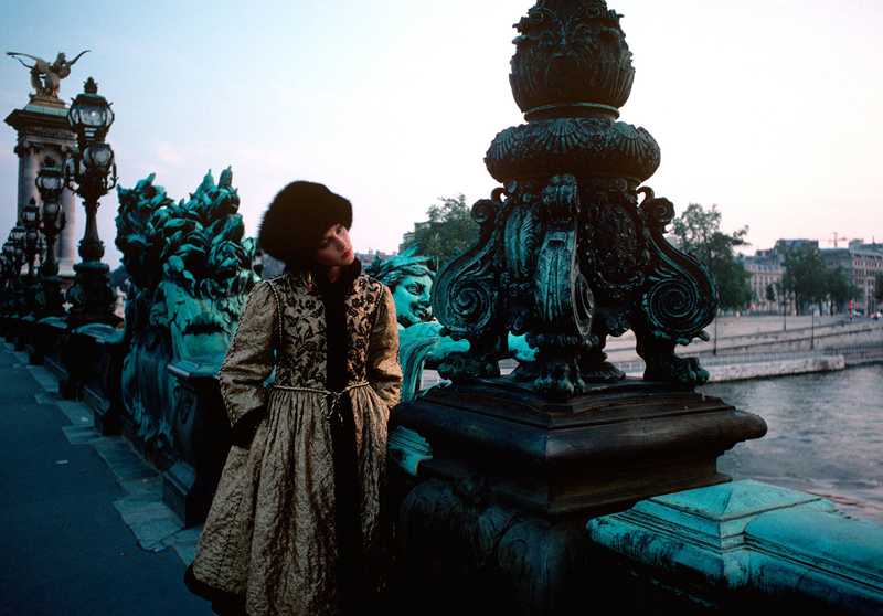 Yves Saint Laurent in Vogue US December 1976 via www.fashionedbylove.co.uk