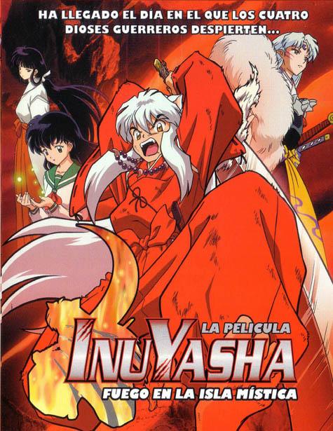 Inuyasha: Fuego en la Isla Mística (01/01) (775MB) (HDL) (Latino) (Mega)