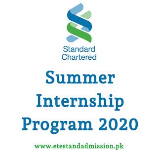 Standard Chartered Summer Internship 2020