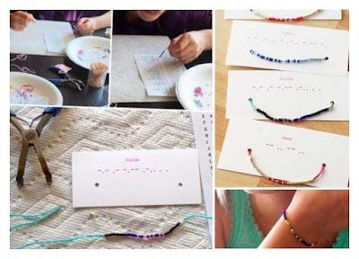 Como hacer Bisuteria con Alfabeto Morse