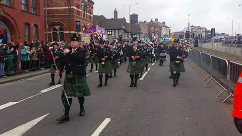 Birmingham St Patrick Day 2017