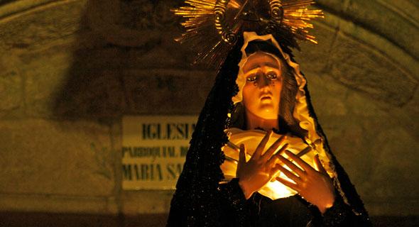 Horarios e Itinerarios Semana Santa Santiago de Compostela (La Coruña) 2017