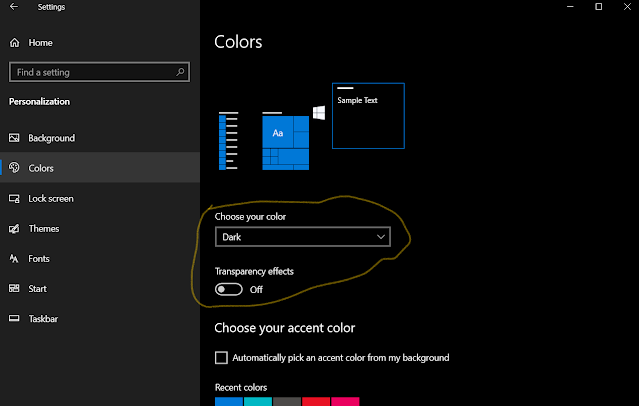 How to enable system-wide dark mode in Windows 10: