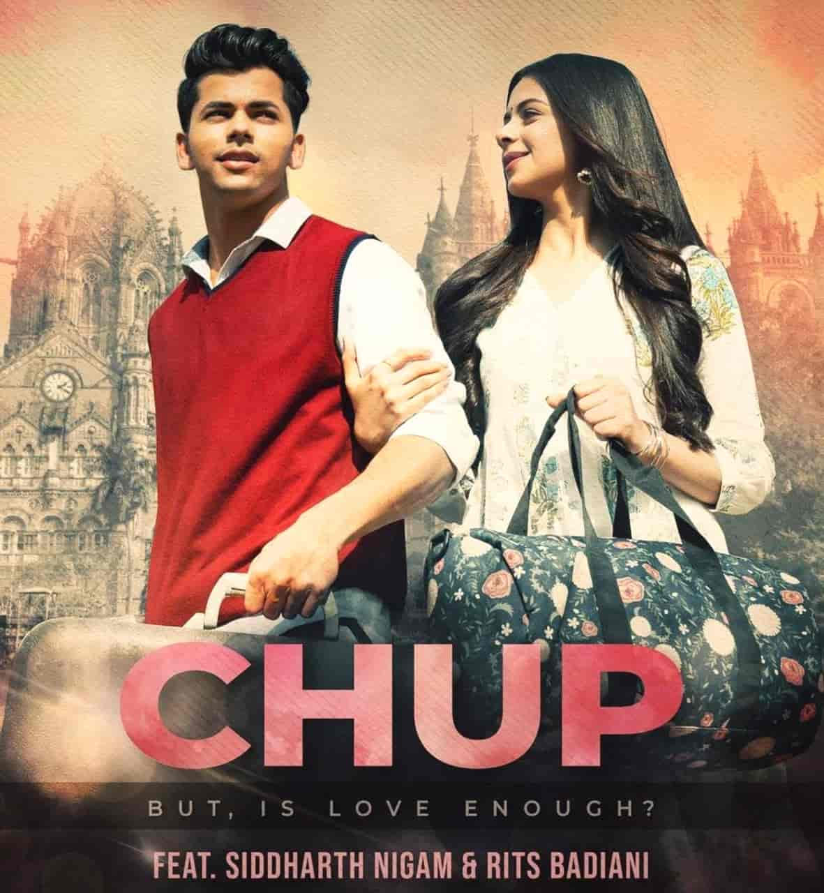 Chup Song Image Features Siddharth Nigam And Rits Badiani