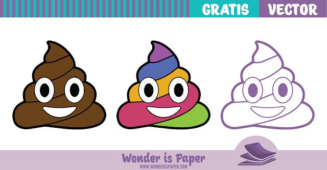 Poop Emoji Vectorizado