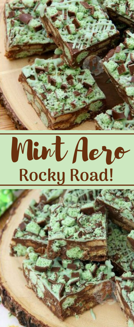 MINT AERO ROCKY ROAD #desserts #healthy #diet #paleo #whole30