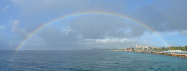 Rainbow courtesy of the wonderful Barry Brown