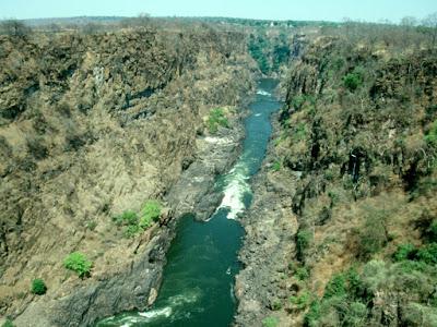 Victoria Falls, Zimbabwe, Zambia