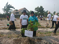 Dalam Mewujudkan Kampus Hijau, Ratusan Pohon Siap Ditanam di Kampus UIN RIL