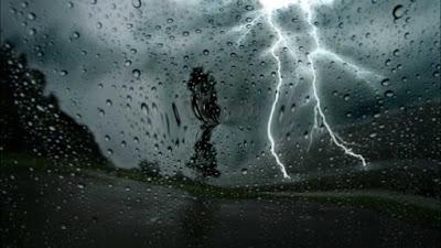 أمطار رعدية غزيرة على بعض ولايات الوطن