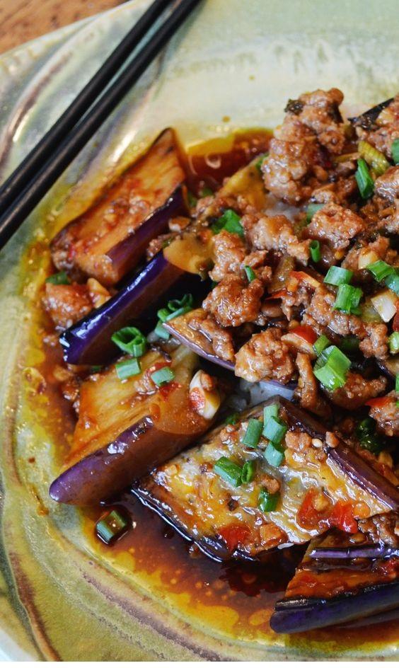 Silky Ma Po Eggplant
