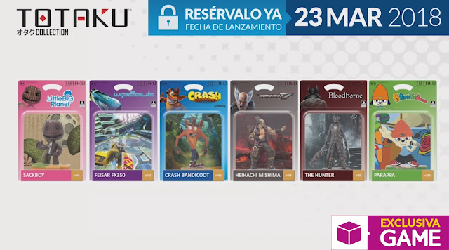 Se anuncian espectaculares figuras con Totaku Collection
