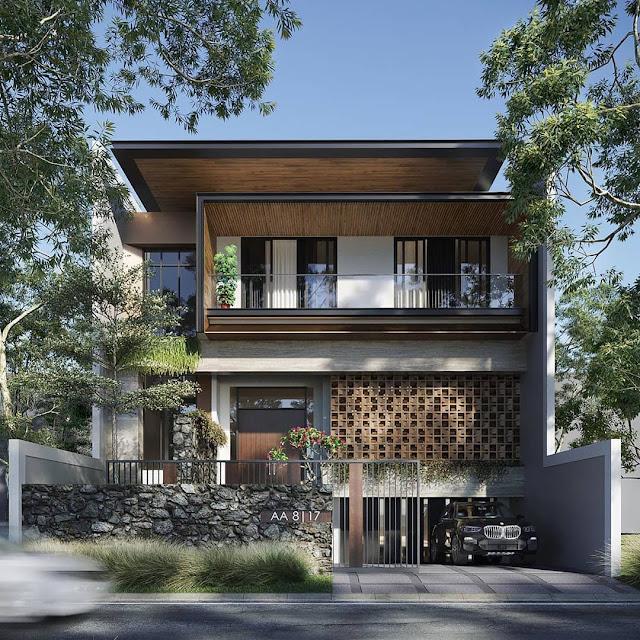 Model Rumah Minimalis 2 Lantai Terbaru 2020 Lengkap