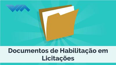 Documentos de Habilitação em Licitações