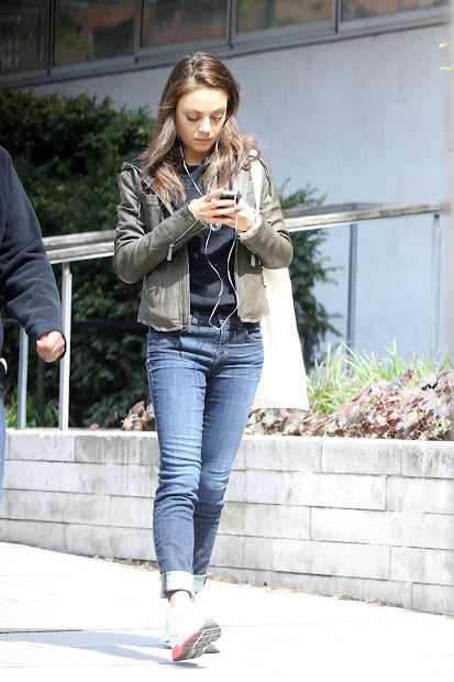 Mila Kunis - Candids In North London Fab Celebs