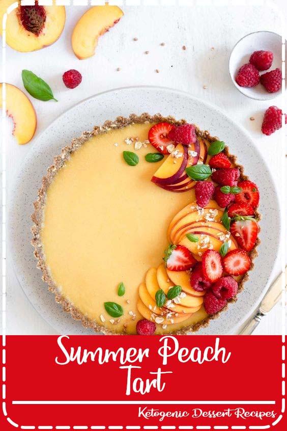 Easy recipe for delicious summer peach tart Summer Peach Tart