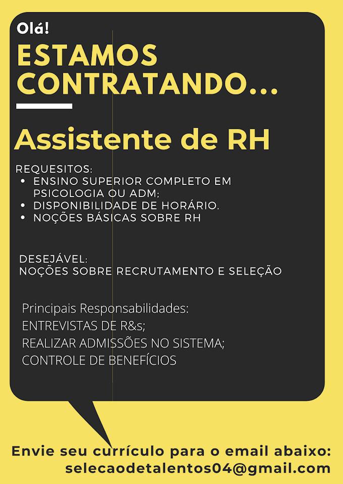 ASSISTENTE DE RH