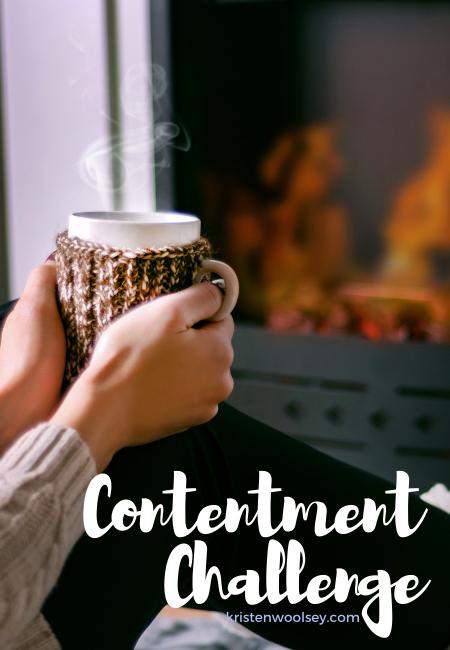 Contentment Challenges and Tips | www.kristenwoolsey.com
