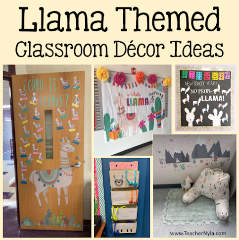 Llama Classroom Decor Ideas