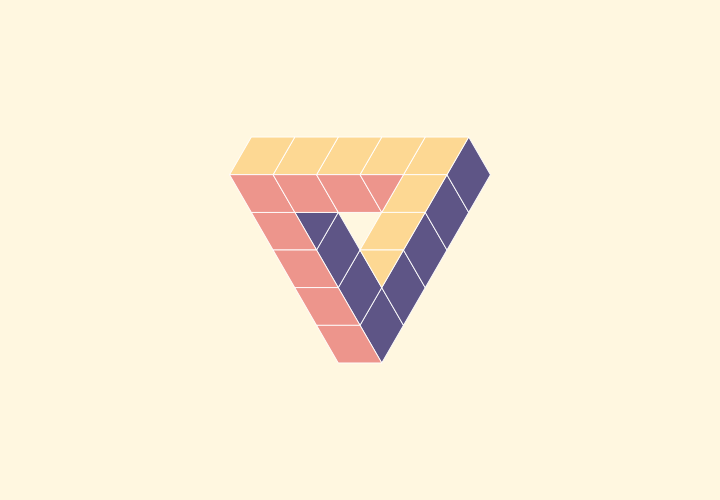 I Love Geometry, Flat Design Triangle