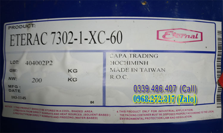 Eterac 7302-1-xc-60 Acrylic resin