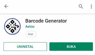 Membuat Barcode Lokasi Google Maps
