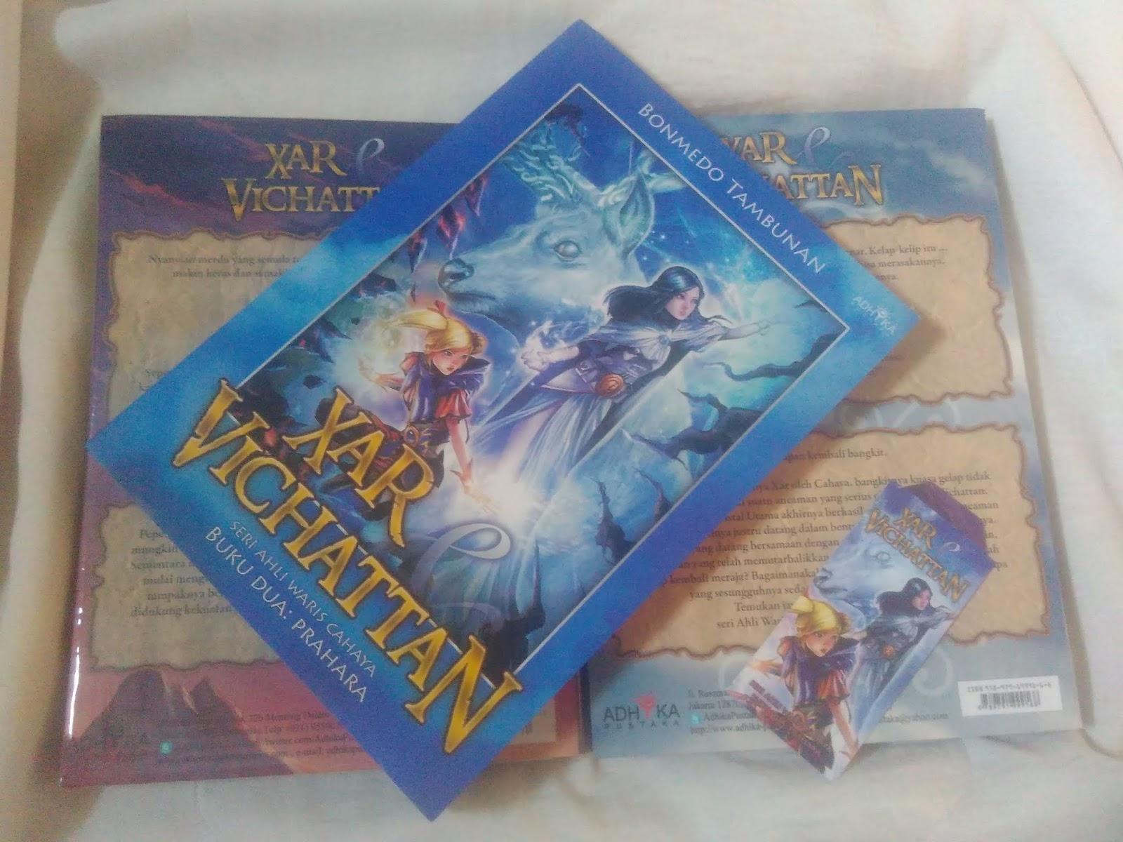 Review Buku Xar & Vichattan: Prahara by Bonmedo Tambunan