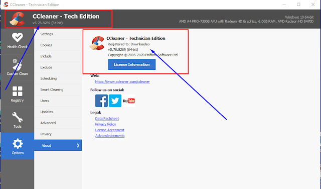 CCleaner Professional Free
