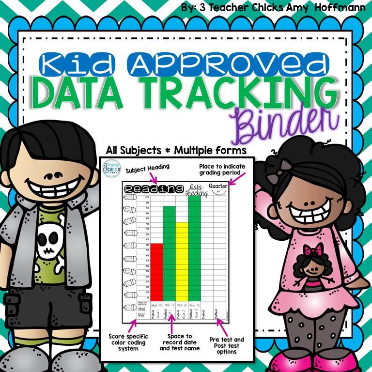 3 Teacher Chicks: Data Tracking Binder FREEBIE