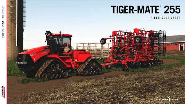 FS19 Case IH Tiger-Mate 255 Field Cultivator v1.2