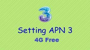Setting/Pengaturan APN 3 4G Free