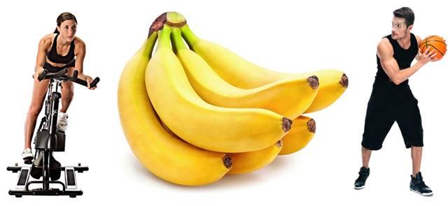 En el banano en el rendimiento deportivo