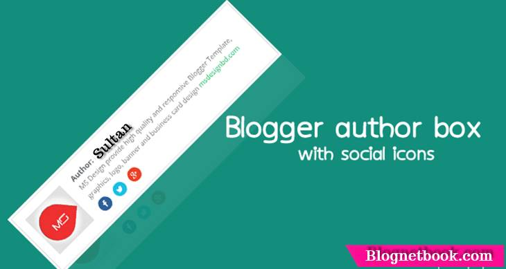 how to enable blogger author box post below
