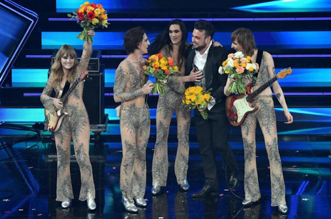 Sanremo: trionfano i Maneskin con 'Zitti e buoni'