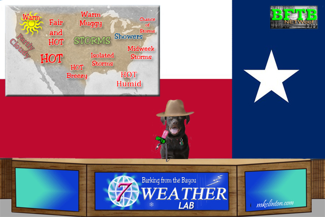 BFTB NETWoof Weather Lab reports from Texas!