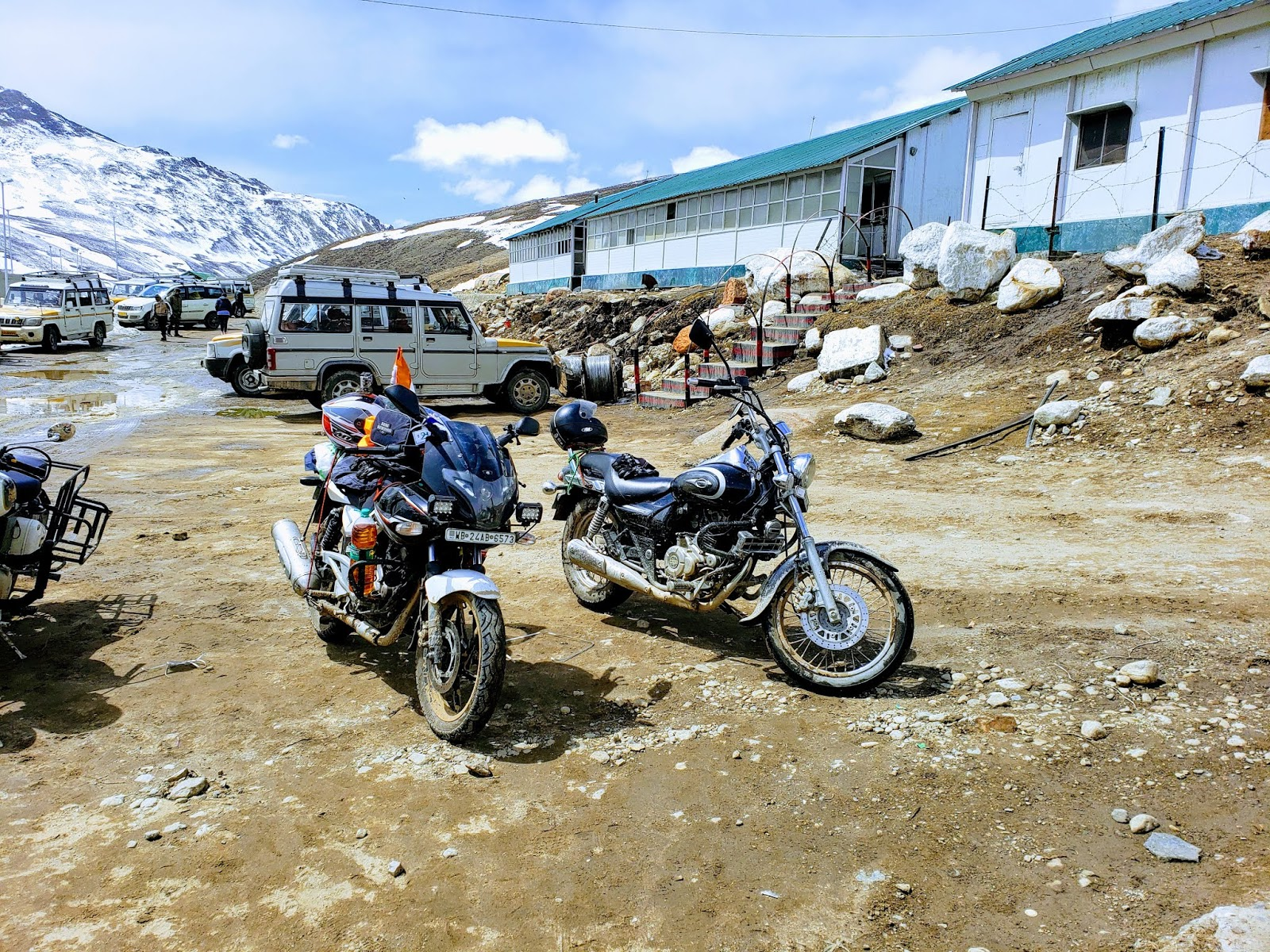 Final Check Post, Gurudongmar Lake