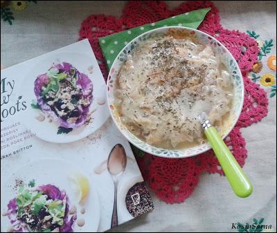 wegańska zupa przepis z boczniakami
