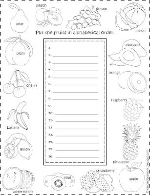 Classroom Freebie ESL Vocabulary Worksheet Printable