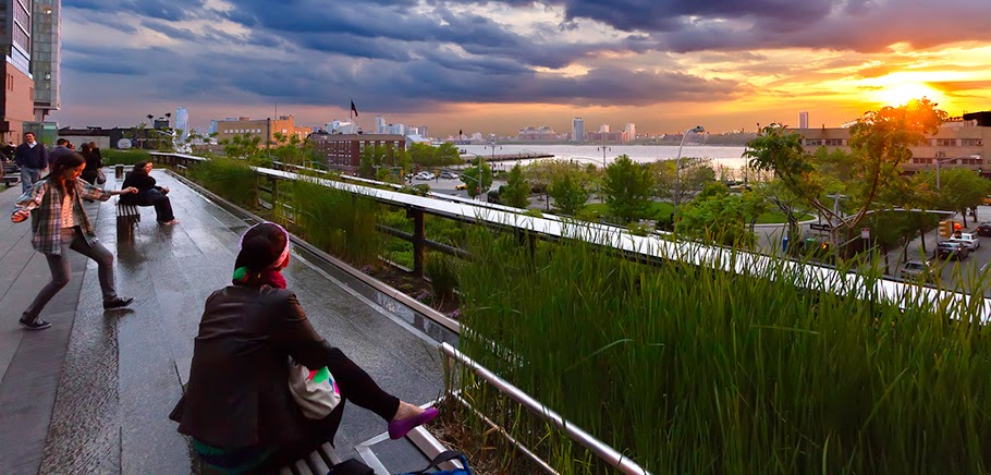 art now and then high line park new york city. Black Bedroom Furniture Sets. Home Design Ideas