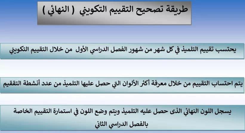التقييم التكويني.. اللغة العربية المحور الأول من أكون ؟ للصف الثاني الابتدائي 2020 5