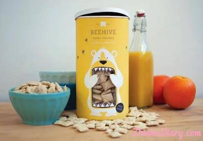 Contoh packaging: Kemasan bergambar karakter beruang
