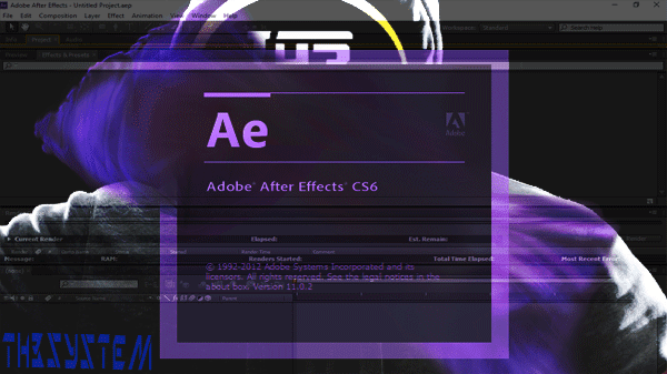 download A very mild version of the program (After Effects CS6) without installation