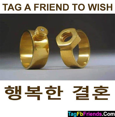 Happy marriage in Korean language