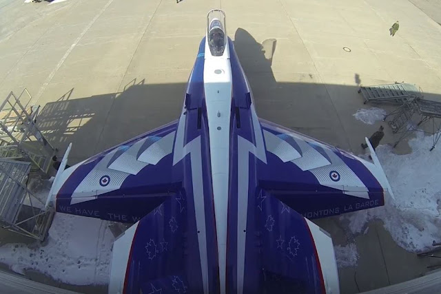 Canadian CF-18 Demo Team scheme 2018