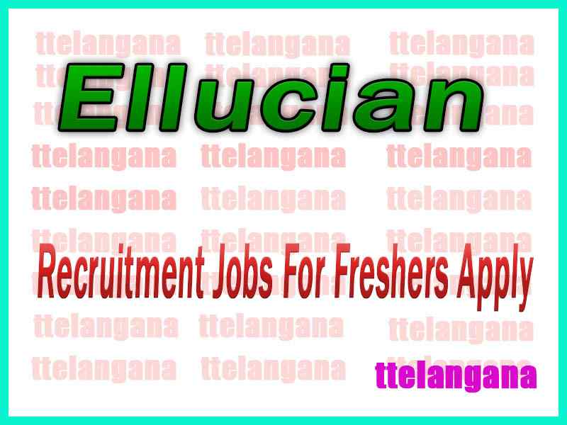 Ellucian Recruitment Jobs For Freshers Apply