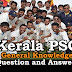 Kerala PSC General Knowledge Question and Answers - 38